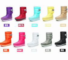 New Women's Men's Bigger Sizes Waterproof Warm Fashion Joggers Boots Snow Boots