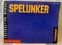 Spelunker - 1987 NES Nintendo Instruction Manual Booklet Only