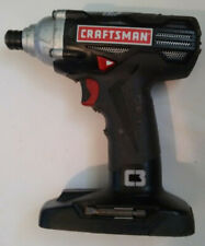 "Craftsman C3 19.2V 1/4"" Impact DRILL Driver w/LED Light 315.116060 19.2 Volt"