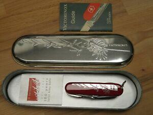 VICTORINOX 100 Jahre years Swiss Army Knife 1897 - 1997 NEU OVP NOS 1.6794.J97