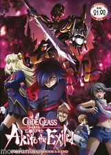 DVD Anime Code Geass : Akito The Exiled Complete OVA Episode 1-5 End +Free1Anime
