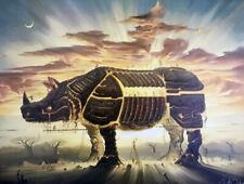 """Kush, Vladimir   """" Trojan Horse """"    Giclee   MAKE OFFER  DSSBA"""