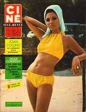JOAN COLLINS - French Cine Tele-Revue Magazine July 22 1965 - C#73