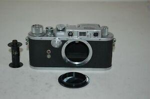 Nicca-3s RARE Vintage 1952 Japanese Rangefinder Camera & Case. 70151. UK Sale