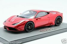 1/18th BBR Ferrari 458 Speciale F1 Red HRE Wheel #02/20 Last Pc, MR Frontiart