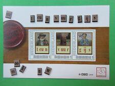 Nederland 2751-D-14 Leesplankje 1 teun - vuur - gijs 2010 postfris MNH