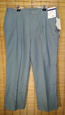 Anchor Bay Light Green Size 42x30 Men's Scotchguard Pleated  Pants NWT NOS