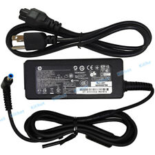 Genuine HP pavilion Laptop AC Adapter Power Supply Charger 19.5V 45W blue tip