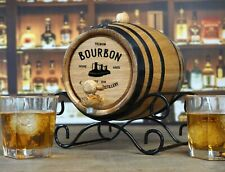 Personalized Barrel Connoisseur® Bourbon Making Kit Whiskey Oak Barrel, Pub, Bar