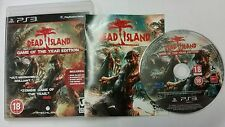 DEAD ISLAND GAME OF THE YEAR EDITION - PS3 GAME SUPER CONDITION - UK PAL VERSION
