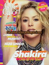 Spanish Que Calor 4/12,Shakira,April 2012,NEW