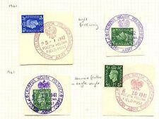 Pictorial George VI (1936-1952) European Stamps