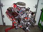 Bbc 454 496 Stroker Chevy Turn Key Engine Alum Heads 615hp Chevrolet