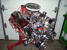 BBC 454/ 496 STROKER CHEVY TURN KEY ENGINE ALUM HEADS 615+HP CHEVROLET