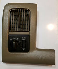 02-05 DODGE RAM 1500 2500 3500 HEADLIGHT SWITCH BEZEL VENT TAUPE TAN COLOR