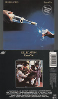 Delegation Eau De Vie CD ALBUM pressing 1987 AAD inclus 2 bonus (remix) 252 093