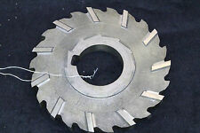 "4"" x 3/8"" x 1 1/4"" Side Milling Mill Cutter FREE SHIPPING stagger tooth HSS"