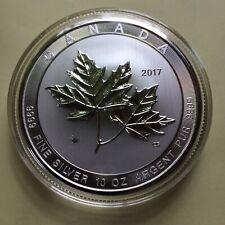 Kanada 2017, MAGNIFICENT MAPLE LEAF 10 oz, 999.9 Silber