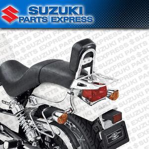 2005 - 2019 SUZUKI BOULEVARD S40 GENUINE CHROME PASSENGER BACKREST & REAR RACK