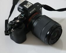 Sony A7  * BOXED * 28-70mm LENS SHUTTER COUNT 1847 Free Postage