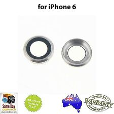 for iPHONE 6 / 6S - Rear Back Camera Lens Glass Ring - SILVER