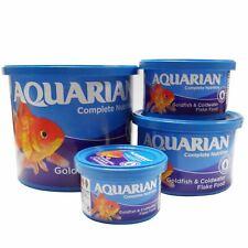 Aquarian Goldfish Flake Fish Food Coldwater Aquarium