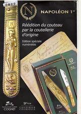 NAPOLÉON 1815 Couteau RARE bientot épuisé  Coffret Collector