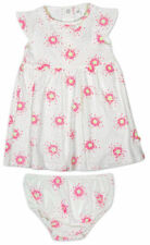 Vestidos multicolor 100% algodón para niñas de 0 a 24 meses