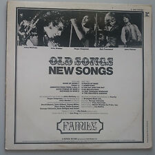 Family - Old Songs New Songs Vinyl LP UK 1st Press 1971 EX+ Best of Compilation