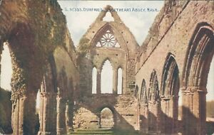 Dumfries sweetheart abbey nave photochrom