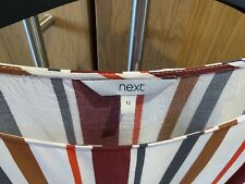 Striped Top Next Size 12