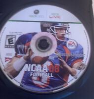 NCAA Football 08 (Microsoft Xbox 360, 2007) Disc Only