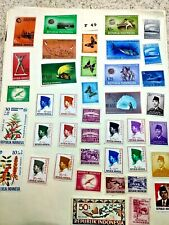 MINT WORLDWIDE STAMPS LOT # F 49  INDONESIA,  ETC.
