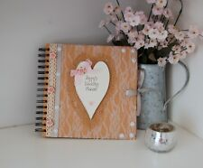 Wedding Planner Book Journal Organiser Gift DIY Bride to Be Hand Decorated