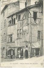 CPA -71 - CLUNY - Maison romane rue dauphine