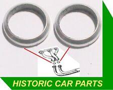 x2 LOTUS Cortina Mk1 Mk2 Elan Plus 2 FRONT BRAKE CALIPER Repair Seals Kits