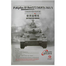 heng long Panzeri IV 1/16 Instruction Parts Menu UK