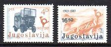 Yugoslavia - 1983 Transport in Montenegro Mi. 1989-90 MNH