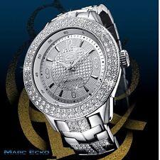 MARC ECKO Men's E16533G1 Silver Iced Watch