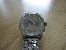 Vintage Welsboro pilot chronograph WWII 17 jewel 2-reg. Swiss made runs great