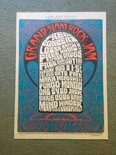 Grand Slam Rock Jam Concert Poster Golden Gate Park Free Fungo Mungo 1993 Masse