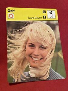 laura baugh 1978 sportscaster golf card