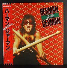 """HERMAN ZE GERMAN & FRIENDS  (Scorpions)  """"S/T"""" MINT/NM JAPAN original w/ OBI"""