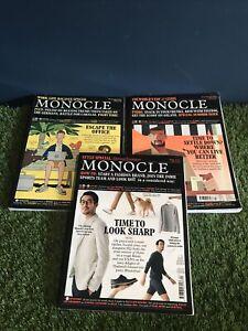 Monocle Magazine Job Lot (3 Issues)