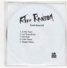(GG39) Riff Random, Trash Heart EP - DJ CD