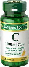 Nature Bounty Vitamin C 1000 mg Rose hip Tab 100 ct