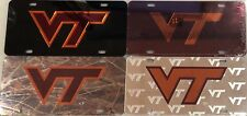 Virgina Tech license plate