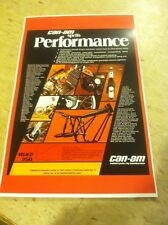 Vintage Can-Am Dirtbike Poster Advertisement Man Cave Gift Present