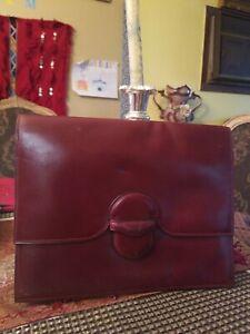 Serafina documenta file Bag Business Brown leather Bag. Italian made  Gorgeous!