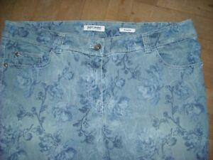 Jeans  GERRY WEBER  Gr. 48  blaugrundig  Kurzgröße
